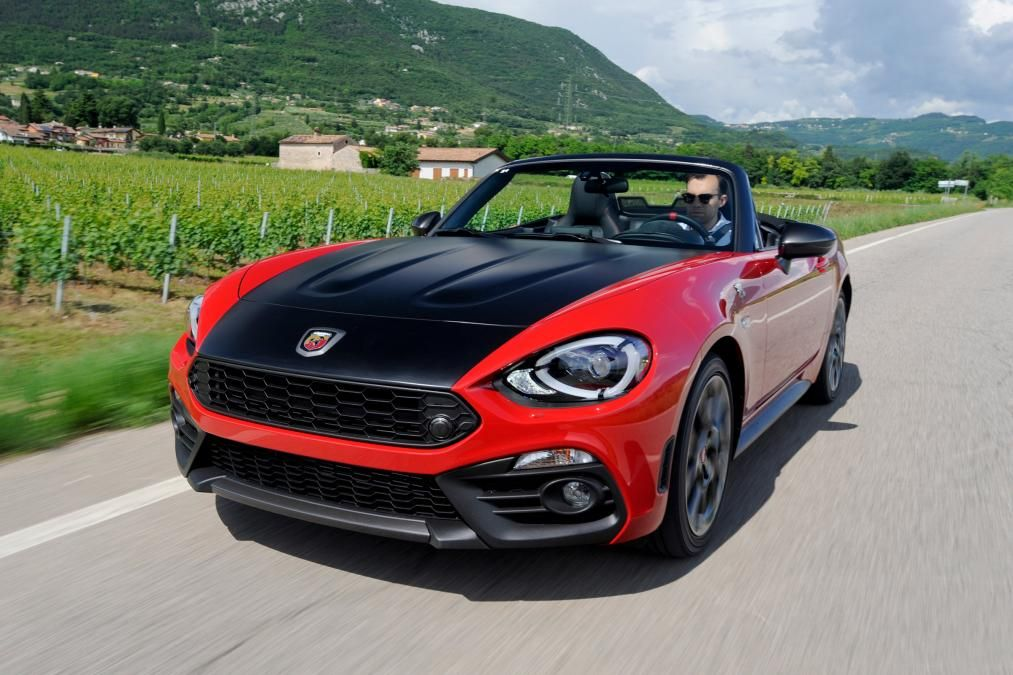 Abarth 124 Spider Red Front Best New Cars Fiat Spider Fiat Cars