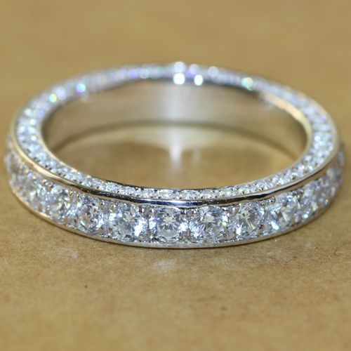 Ring For Quality Wedding Directly From China Suppliers Superb Luxury Nscd Simulated Diamond Vintage Full Eternity