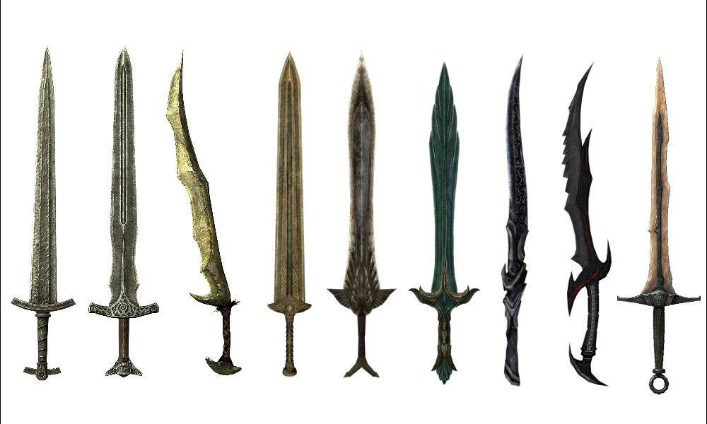 skyrim swords - Google...