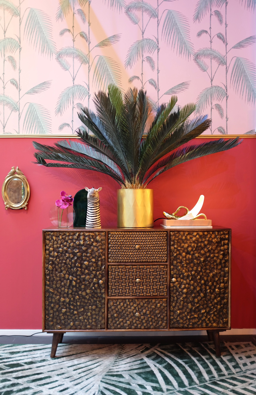 Goldrush Kast Mango Dark Art Home Decor Furniture