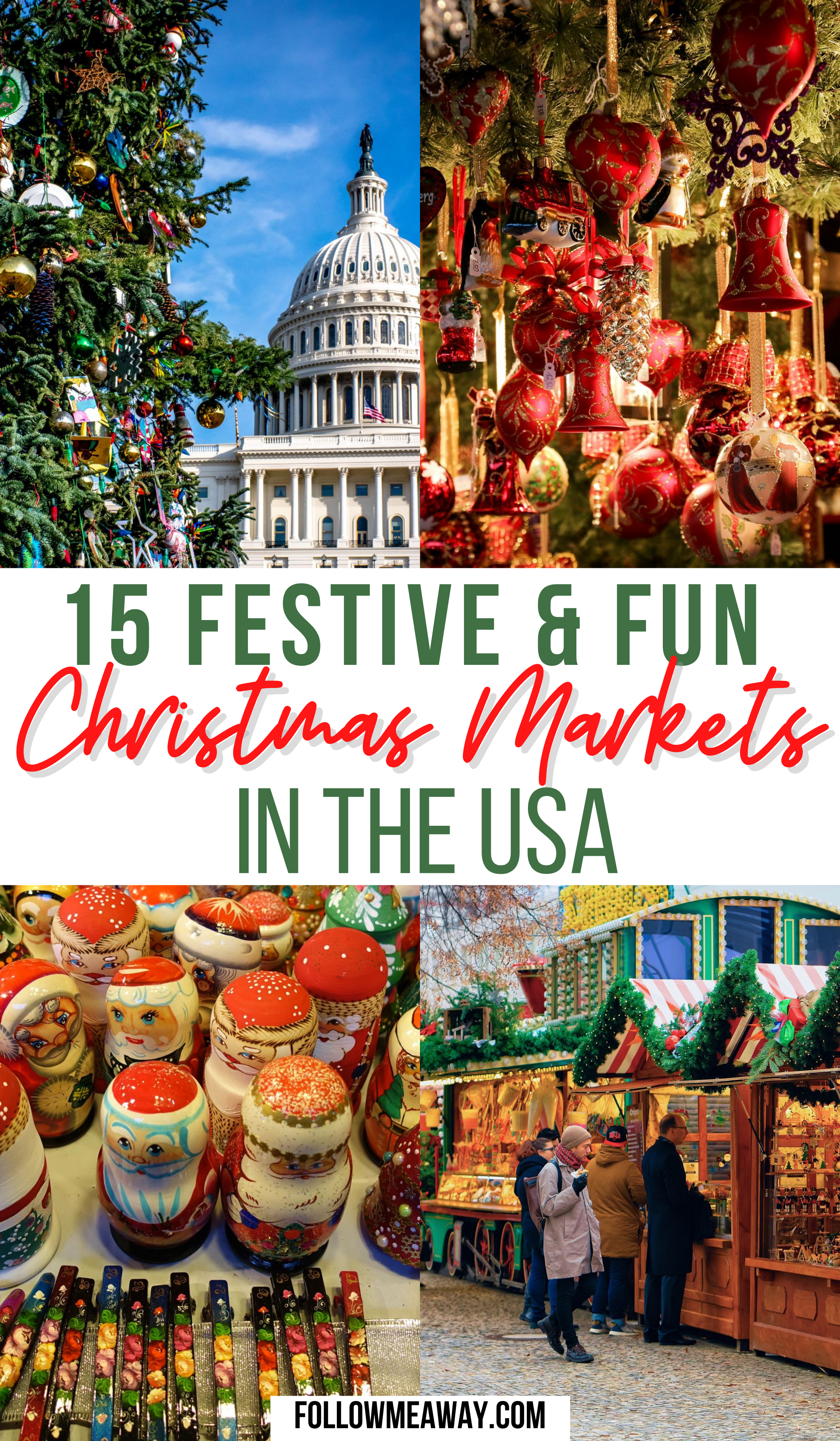 Christmas Markets In Usa 2020 15 Festive Christmas Markets In The USA in 2020