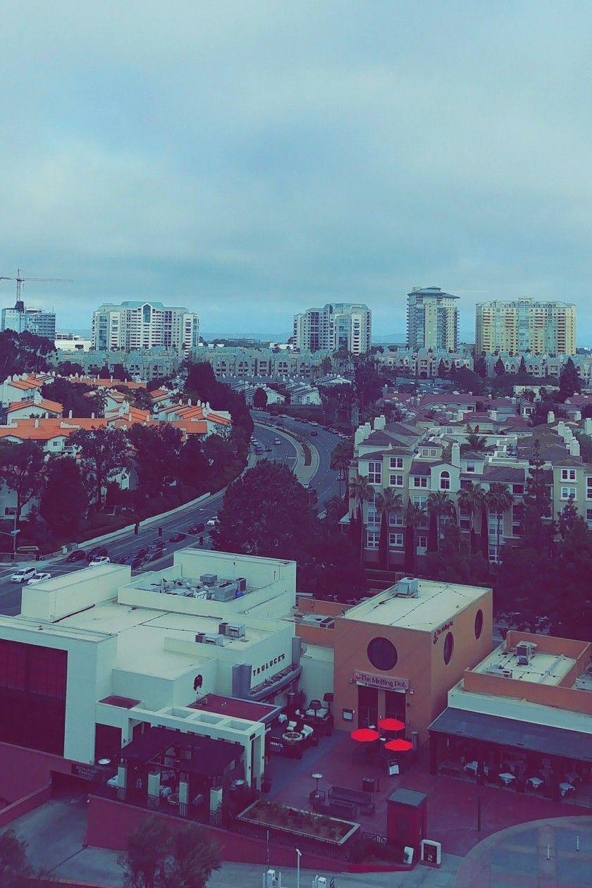 Hyatt Regency window view we had. San Diego La Jolla | California ...