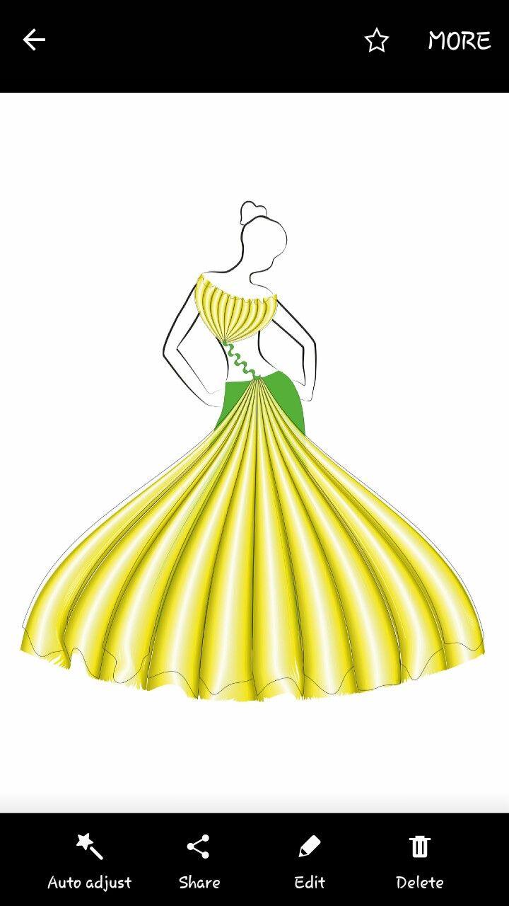 Done In By Corel Draw Coreldraw Design Fashion Design Sketch Fashion Figures