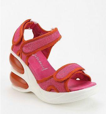 b9da4829bab1 90 s flashback! I loved these bubble sole sandals!!