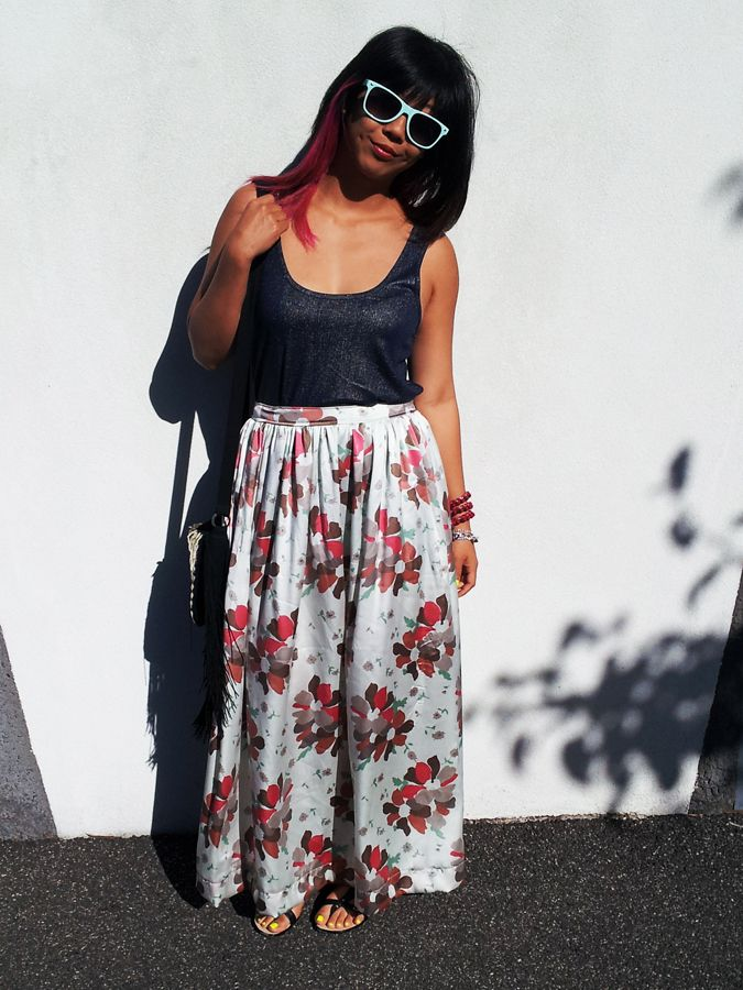 4f97e6ac Nice maxi skirt tutorial from Pretty Quirky Pants | Sewing ideas ...
