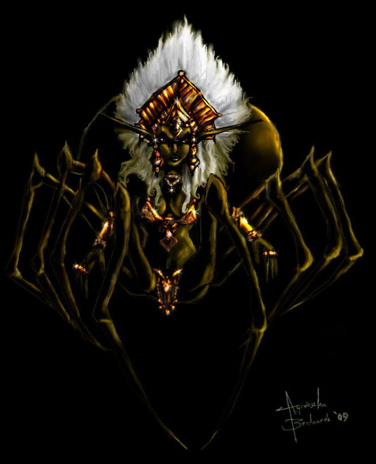 Lolth- SPIDER QUEEN By ~Agusia1986 On DeviantART