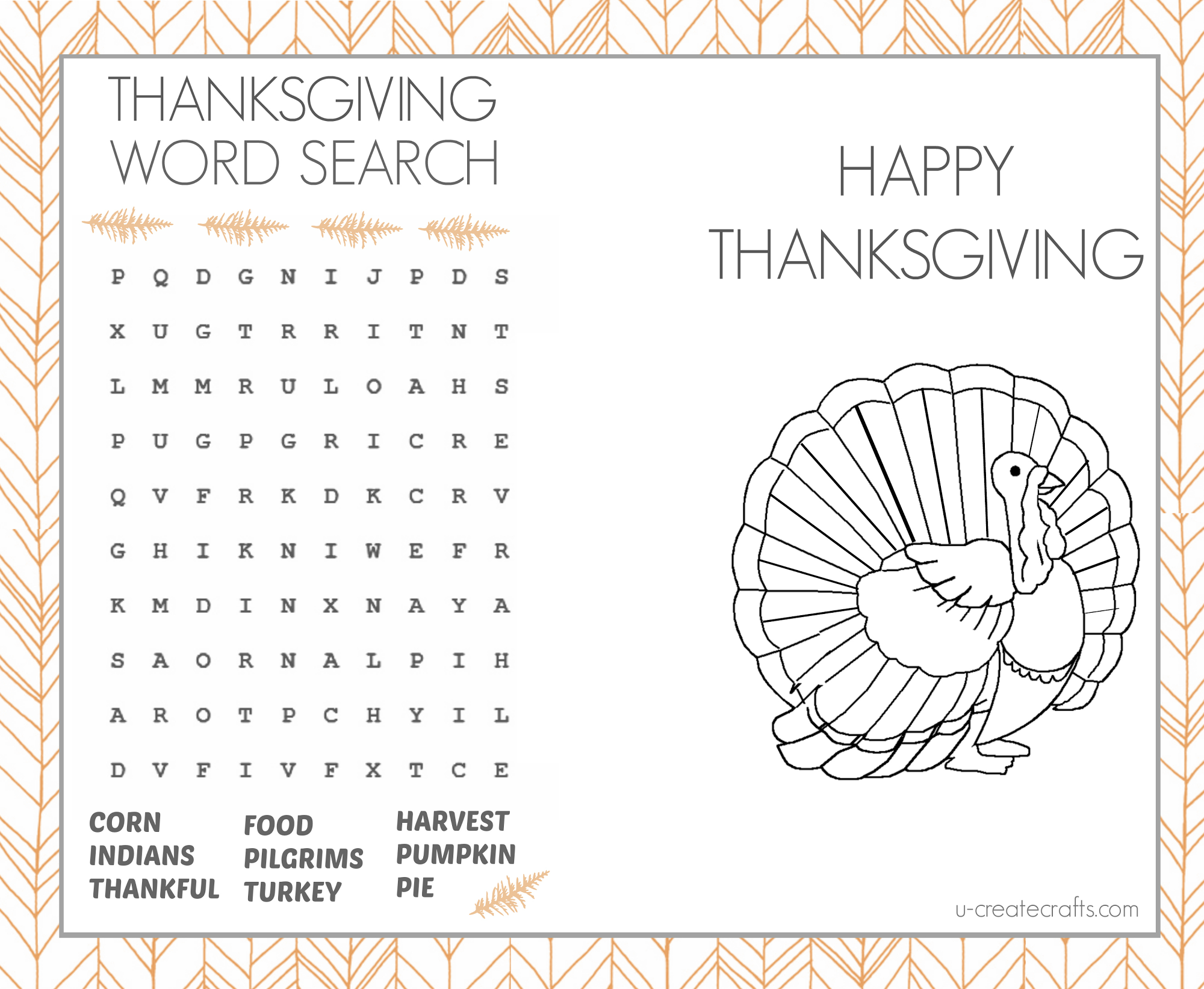 Thanksgiving Activity Book - Google Drive | Holidays | Pinterest