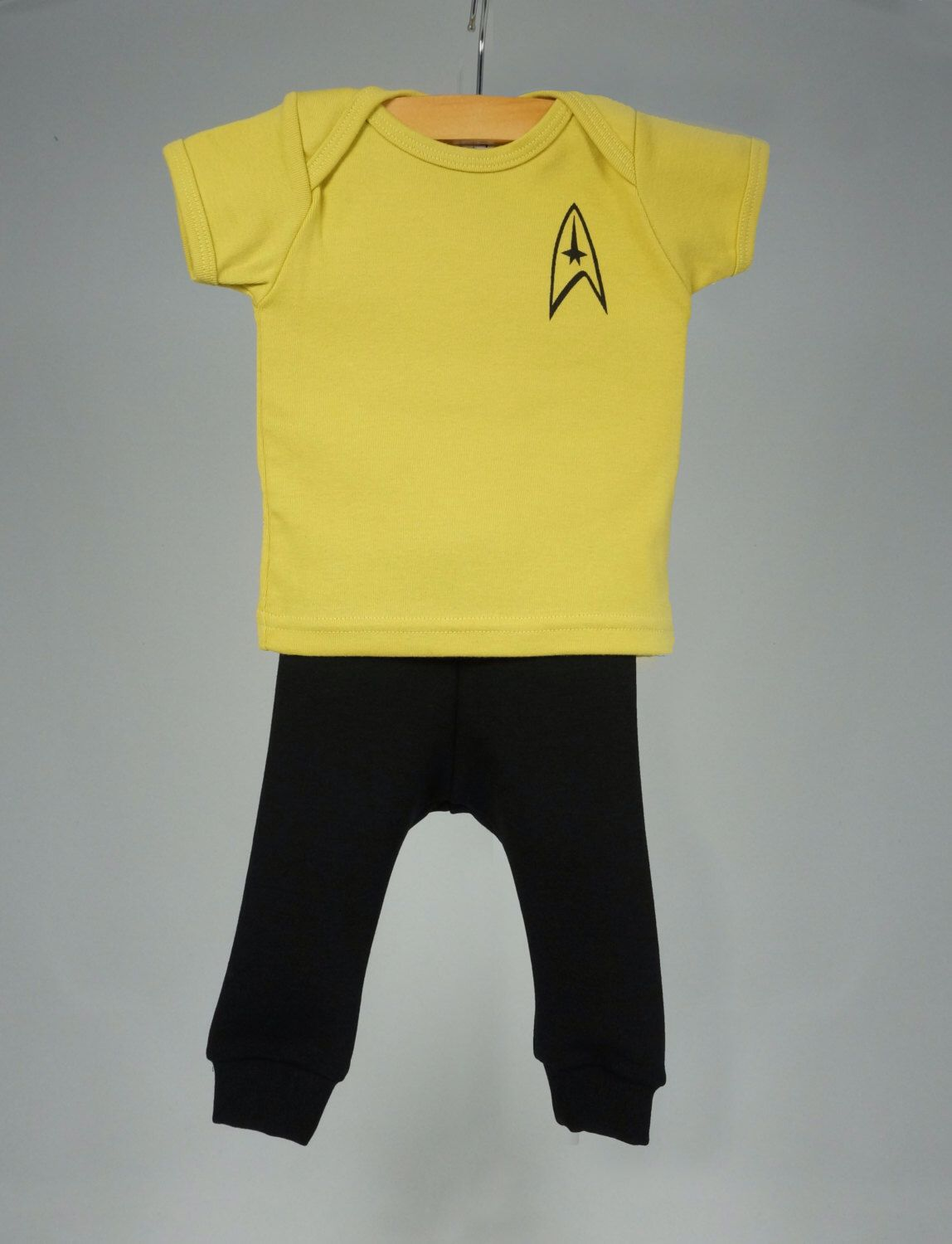 Tiny captain uniform baby Star Trek outfit nerdy baby gifts baby halloween costume Star Trek clothing for babies by StrangeGalaxy on Etsy ... & Tiny captain uniform baby Star Trek outfit nerdy baby gifts baby ...