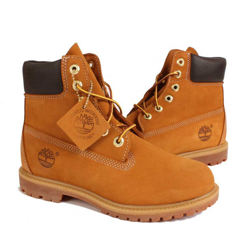 Always A Classic 6 Inch Premium Timberland Boots Timberland Boots Brown Lace Boots