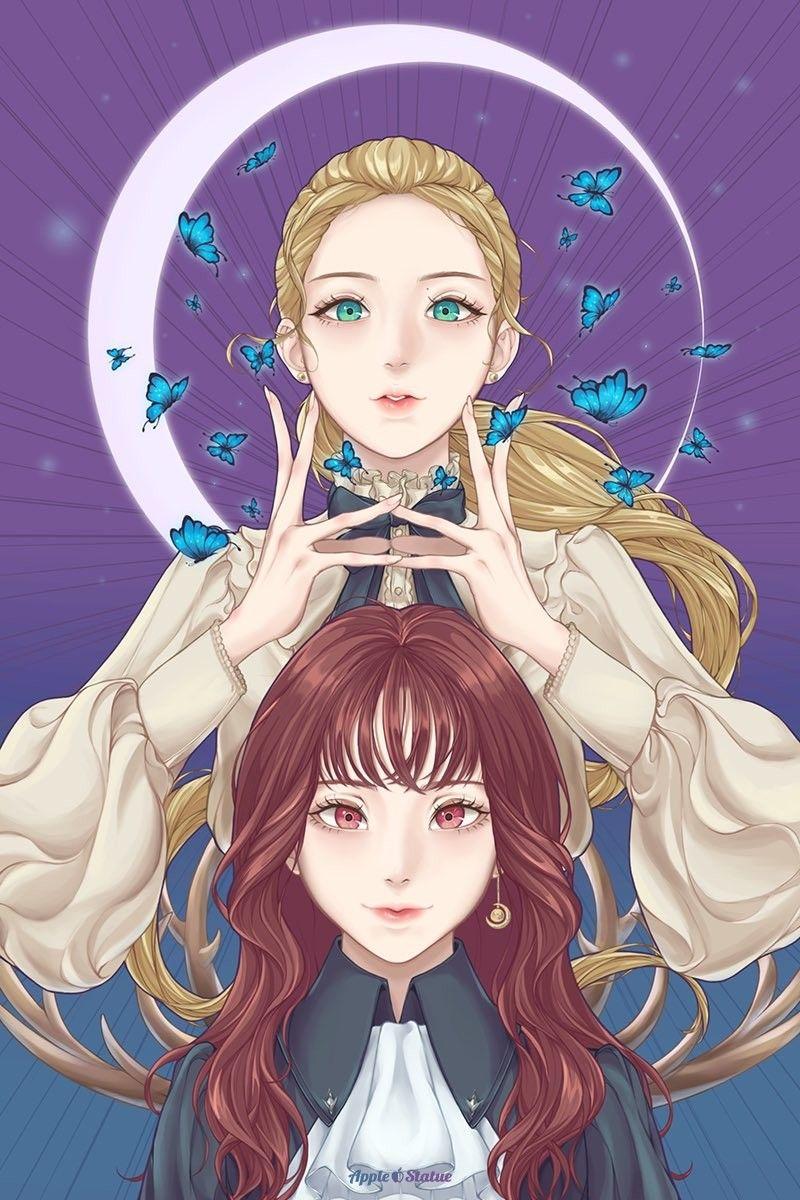 Go Won & ViVi♡ fanart by APpleSTatue_ on Twitter