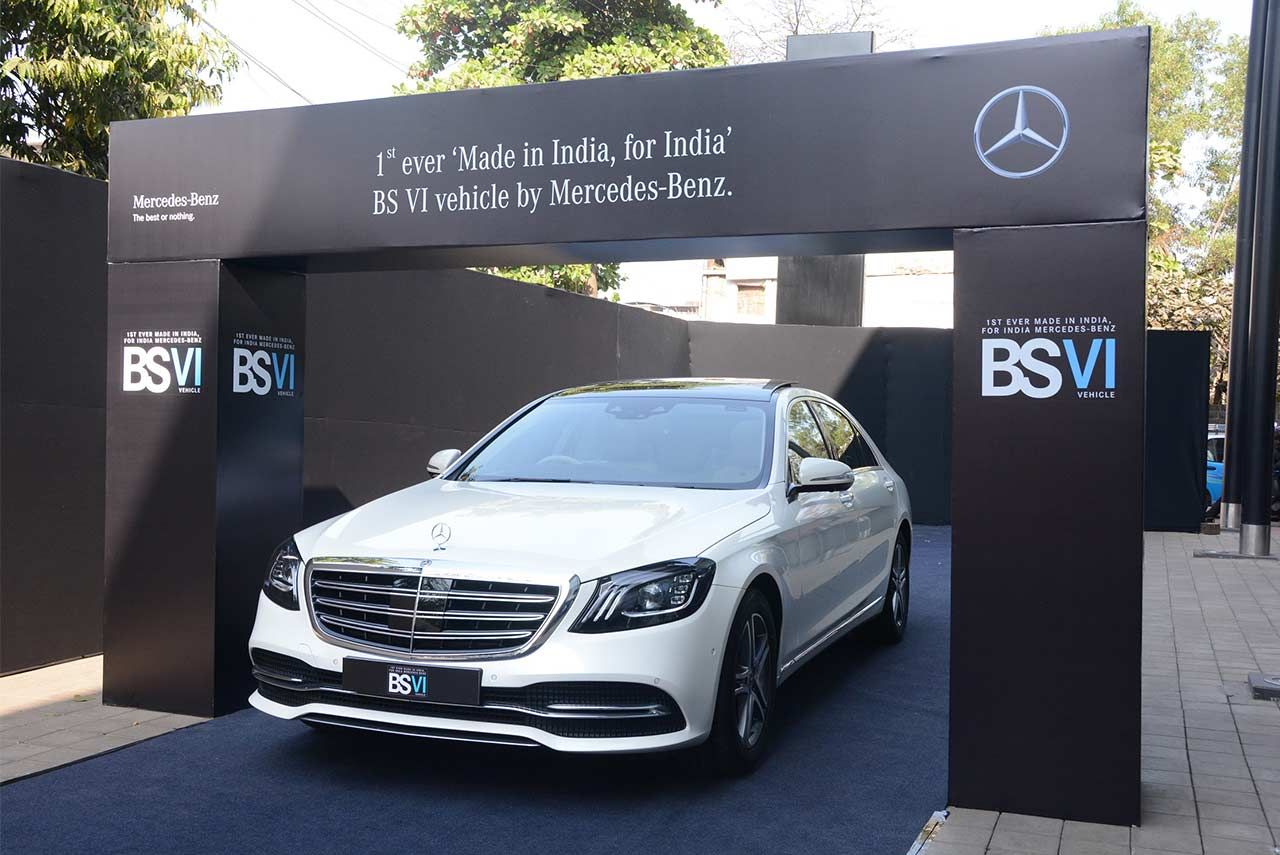 Mercedes-Benz has launched the first ever Bharat Stage VI compliant ...