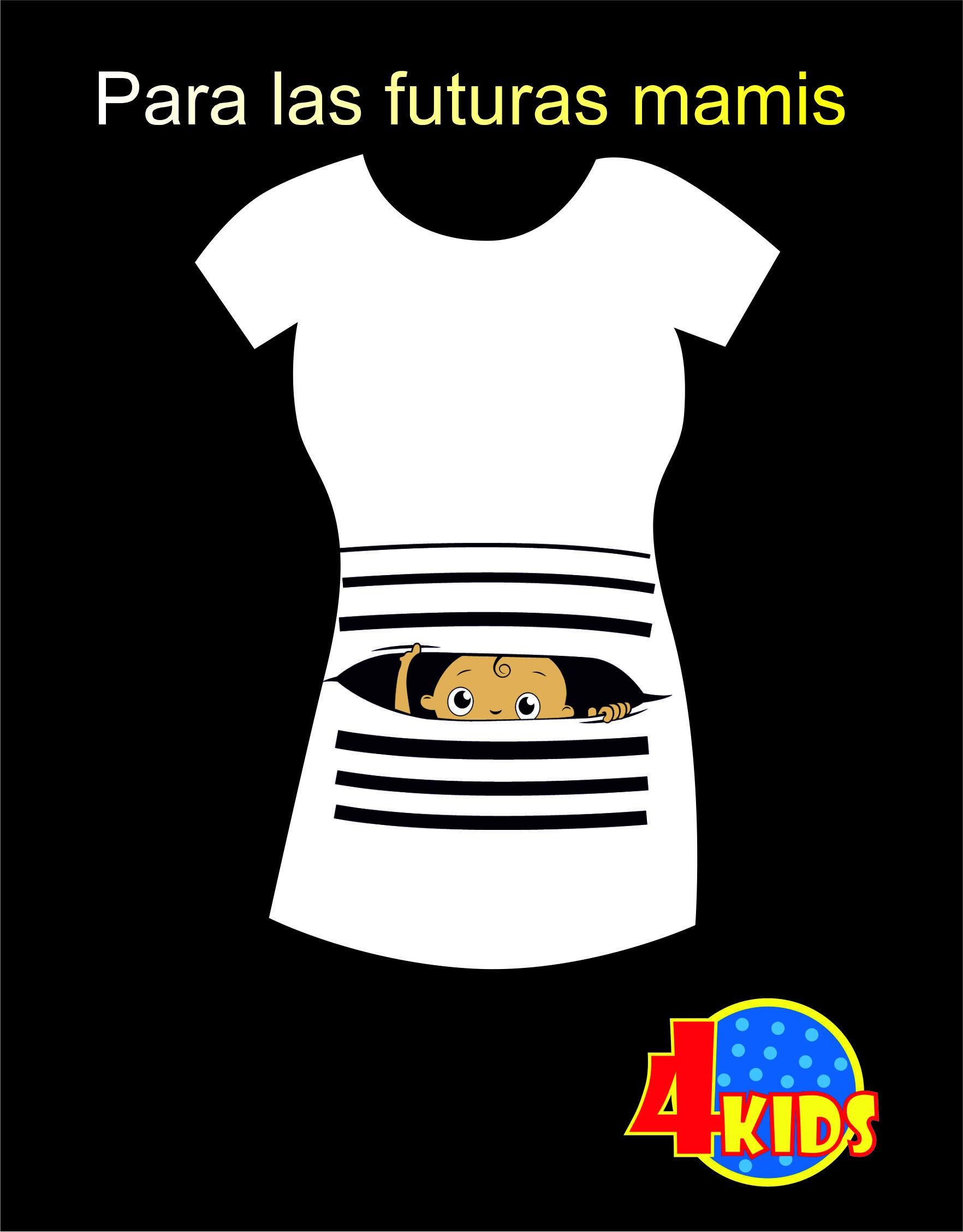 b85d0cfff Para las embarazadas . Poleras Personalizadas