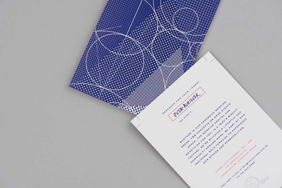 Brand identity and print for Singapore co-working space The Working Capitol by Graphic Design Studio Foreign Policy