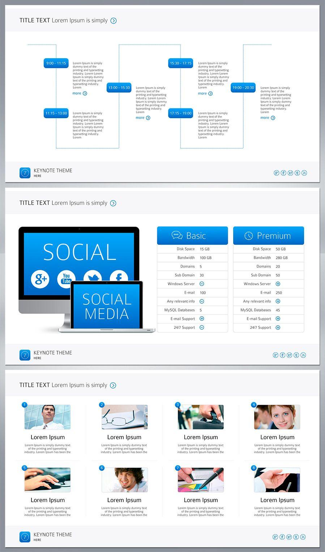 Seven PowerPoint Ad PowerPoint App design