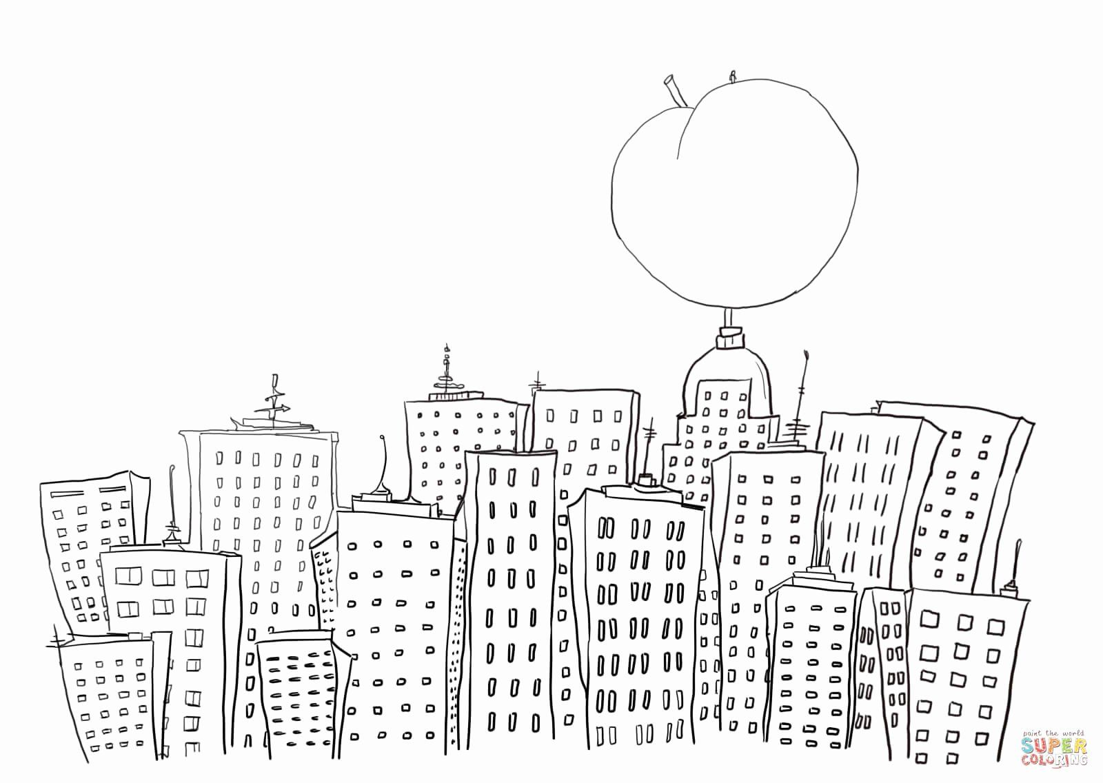 21 New York Coloring Books In With Images