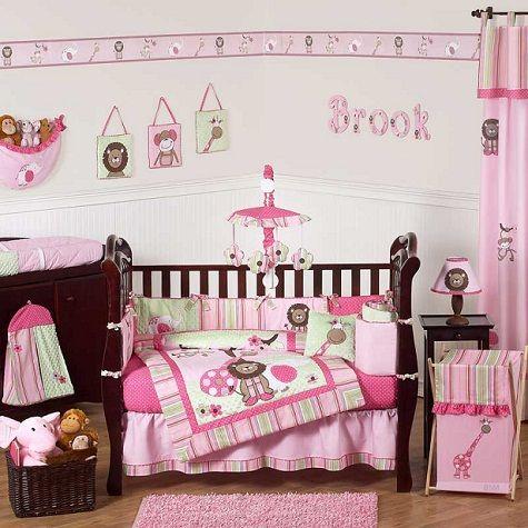 Color rosa en las habitaciones de las niñas