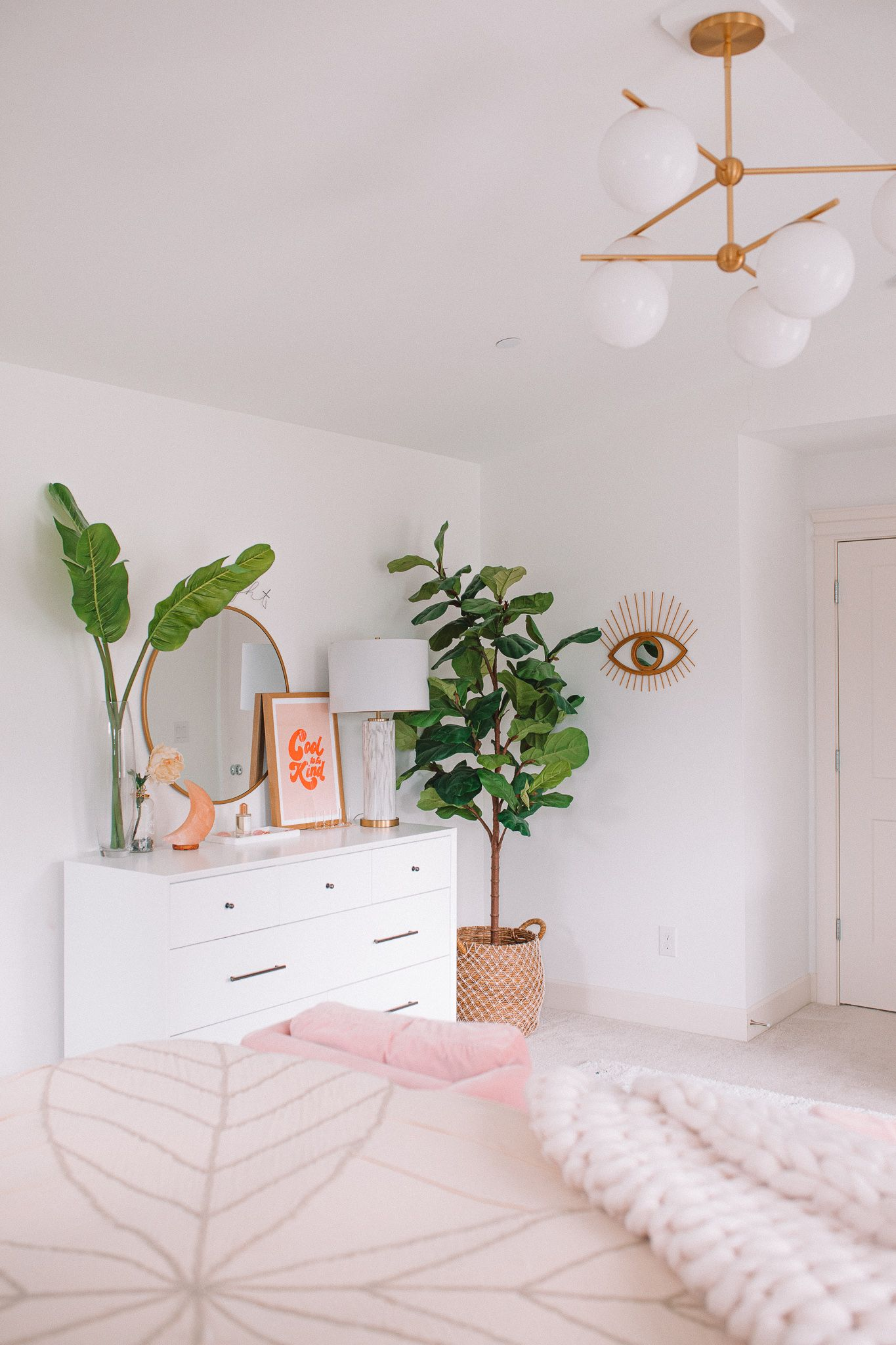 Modern Bohemian Bedroom Update | Gypsy Tan