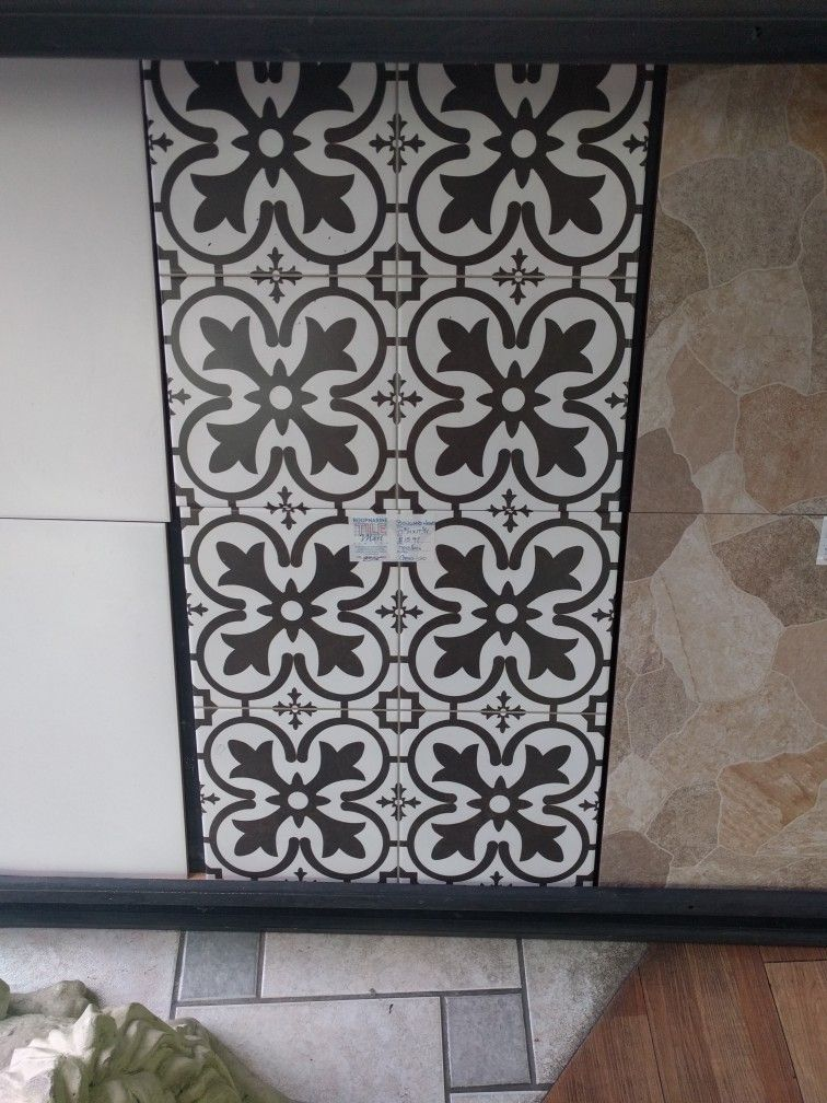 Faux Encaustic Tile In Roopnarine Tile Mart In Chaguanas Trinidad - Faux encaustic tile