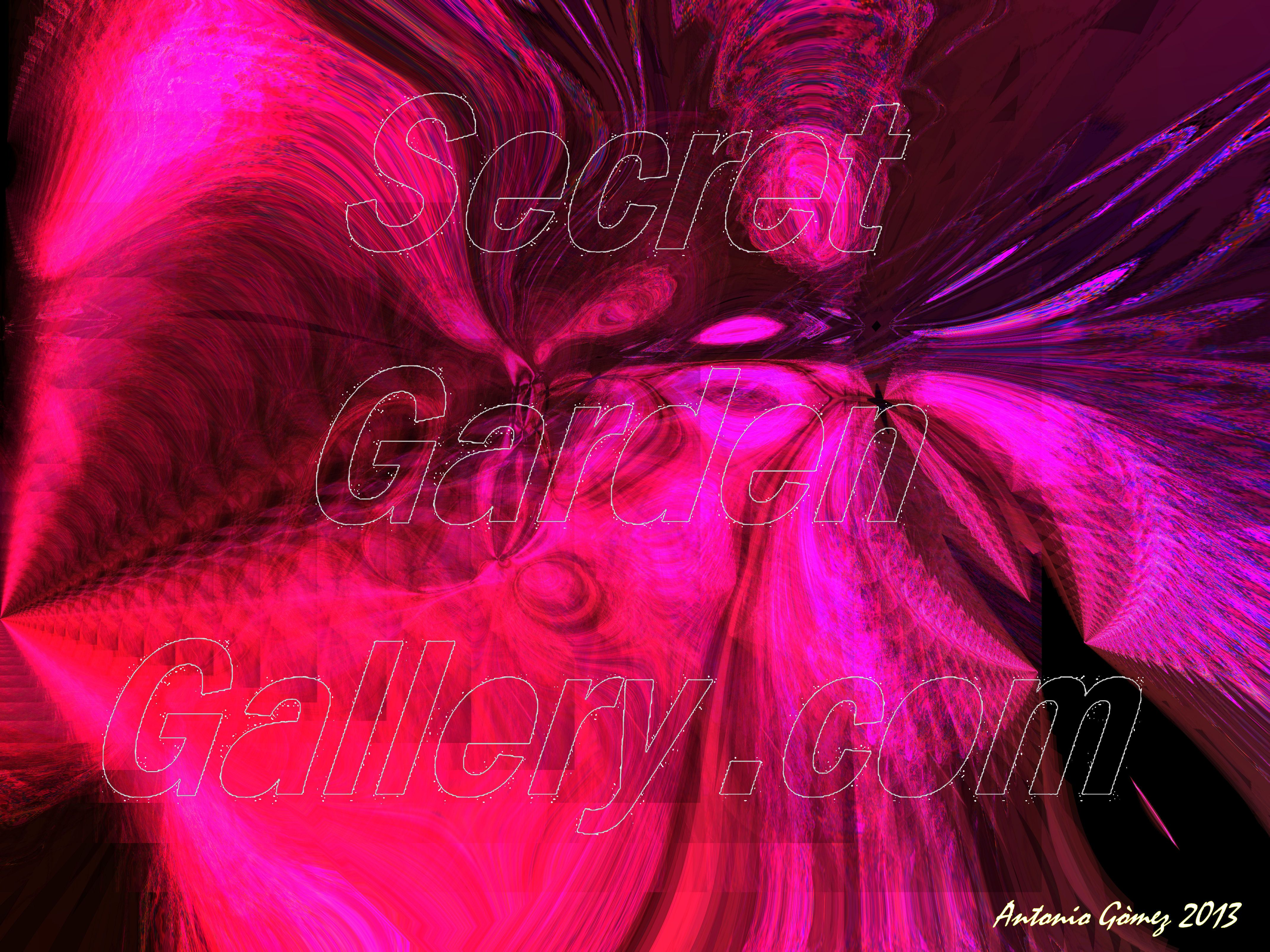 Digital Photo Manipulation Abstract Art print on canvas 19.5 x 14.5 inch sing & number by Artist
