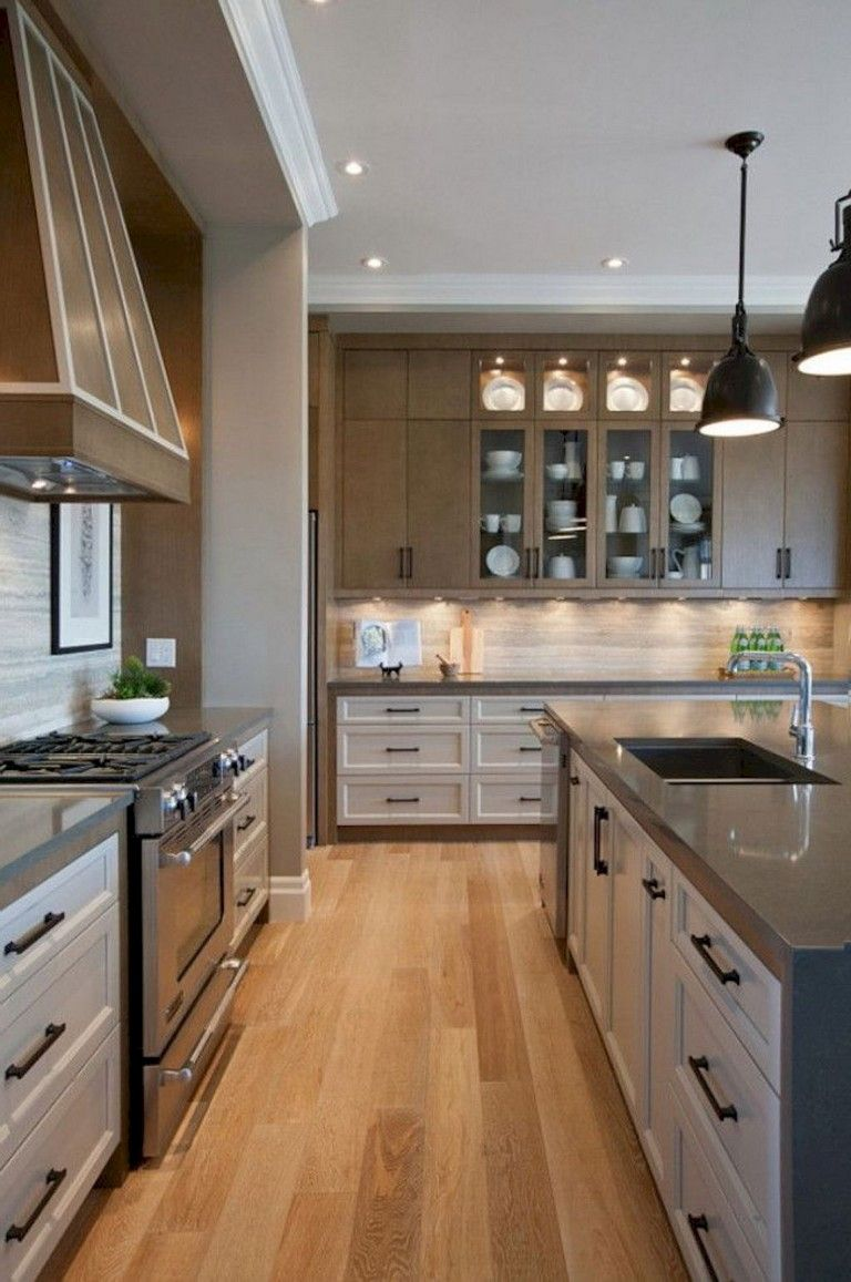 57 Amazing Contemporary Kitchen Cabinets Remodel Ideas Contemporary Kitchen Transitional Kitchen Design Contemporary Kitchen Design