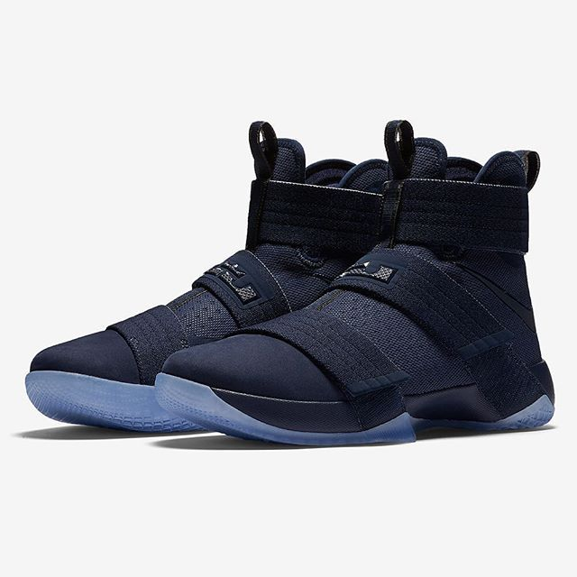 on sale 6a1ab e0a3e best price the nike lebron soldier 10 blues dropped today. for a detailed  look at