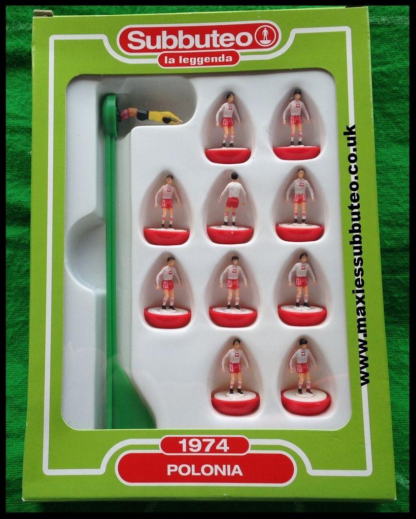 Subbuteo Teams La Leggenda Poland 1974 £20.00 (With images