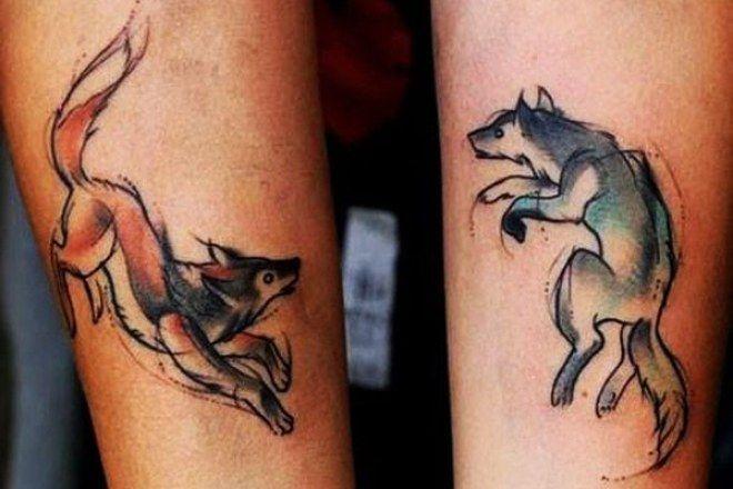 Tatuajes para parejas diseños para perpetuar vuestro amor Tatoo - tatuajes para parejas