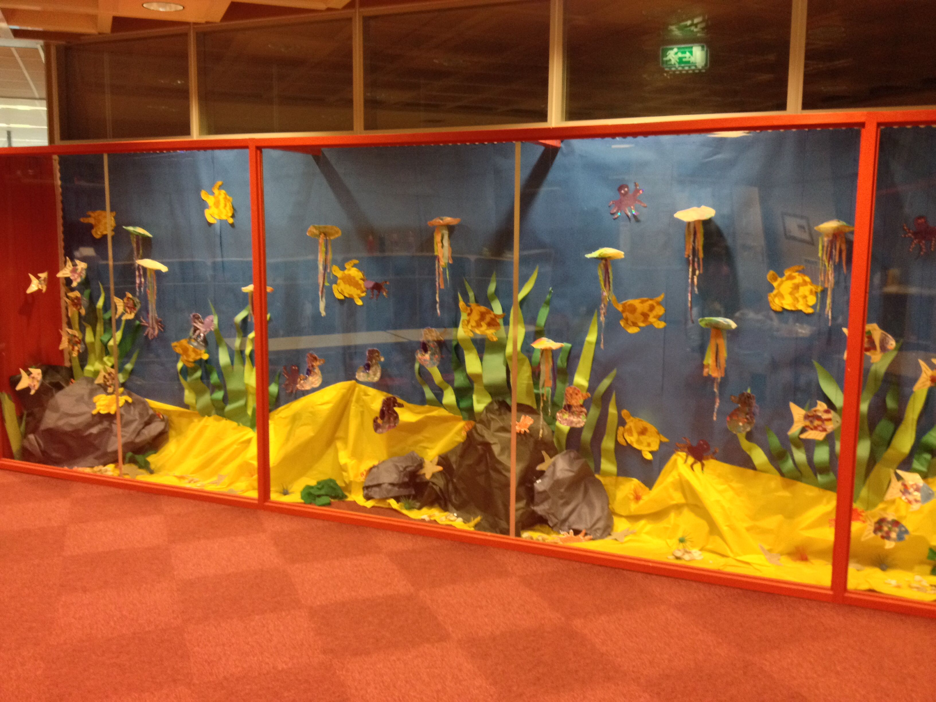 Sea Life Ocean Theme 3d Bulletin Board Preschool