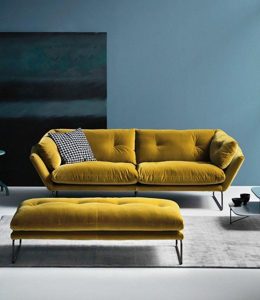 Beautiful Saba Italia  New York Suite Large Sofa