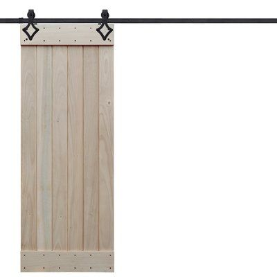 Barndoorz Paneled Wood Barn Door Without Installation Hardware Kit Size 36 X 96 Finish Winter White Wood Barn Door Glass Barn Doors Barn Door Designs
