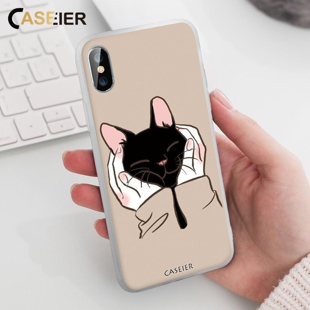 Cat Pattern Cute Phone Case For Huawei Mate 20 10 P P20 P10 P9 ...