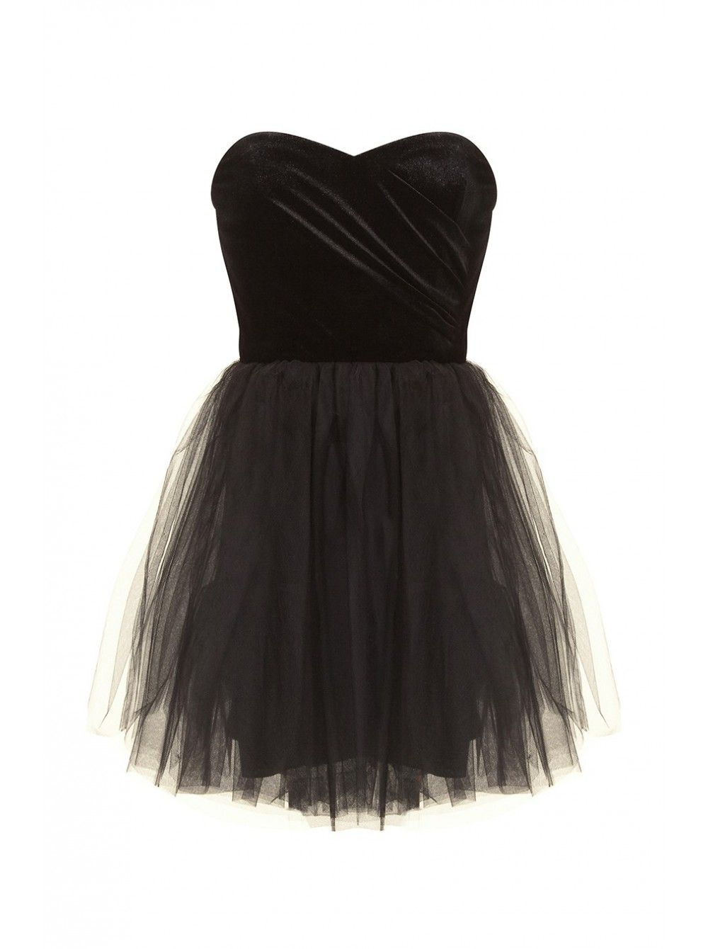 robe bustier velours et tutu noir robes femme naf naf robe pinterest tutu noir robe. Black Bedroom Furniture Sets. Home Design Ideas