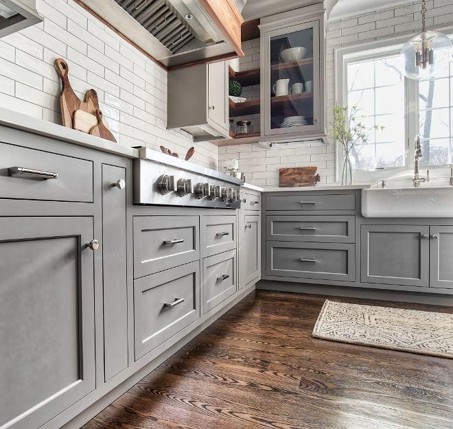 Grey Kitchen Cabinet Paint Color Grey Kitchen Cabinets