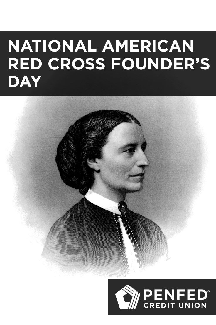 Today is national american red cross founders day and it