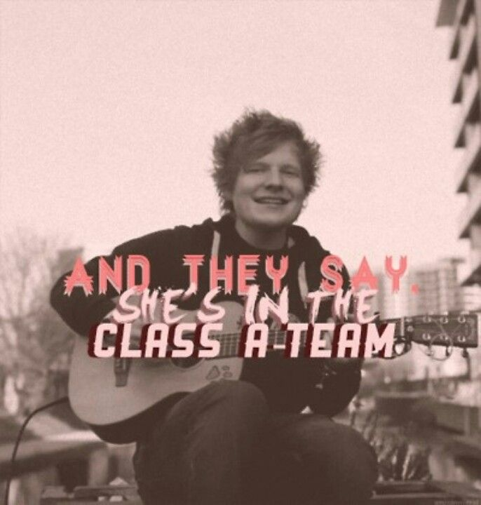Ed Sheeran. Just chillin'. Apparently...