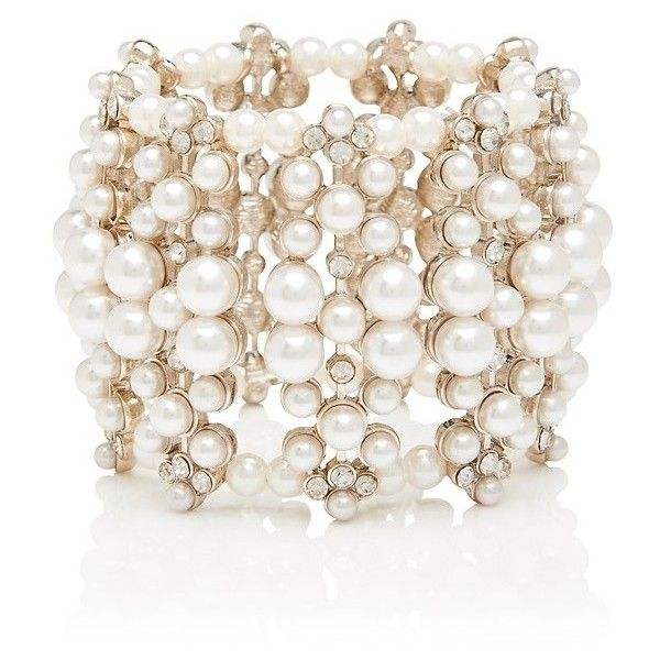 Forever New Couture Bauble Pearl Bracelet (86 BRL) ❤ liked on Polyvore featuring jewelry, bracelets, accessories, bratari, pearl, pearl bangle, bead jewellery, special occasion jewelry, gold tone jewelry and bauble jewelry