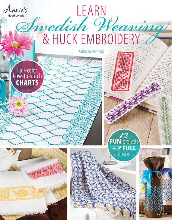 Learn Swedish Weaving & Huck Embroidery | Huck Weaving | Pinterest ...