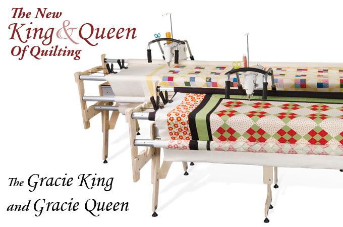 The metal Grace Majestic frame is a solid, heavy duty frame that's ... : crown jewel longarm quilting machine - Adamdwight.com