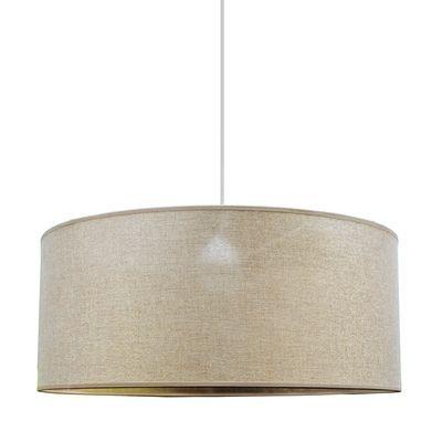 Lampadario Glamour Cilindro Oro Tortora In Tessuto D 48 Cm Prezzo Online Leroy Merlin Lampadario Lampadari Illuminazione Lampadari