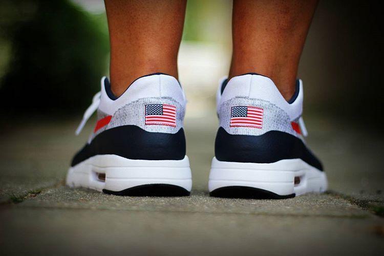 La Nike Air Max 1 Ultra Flyknit ID OG Mesh USA + 19 Nike ID patriotiques