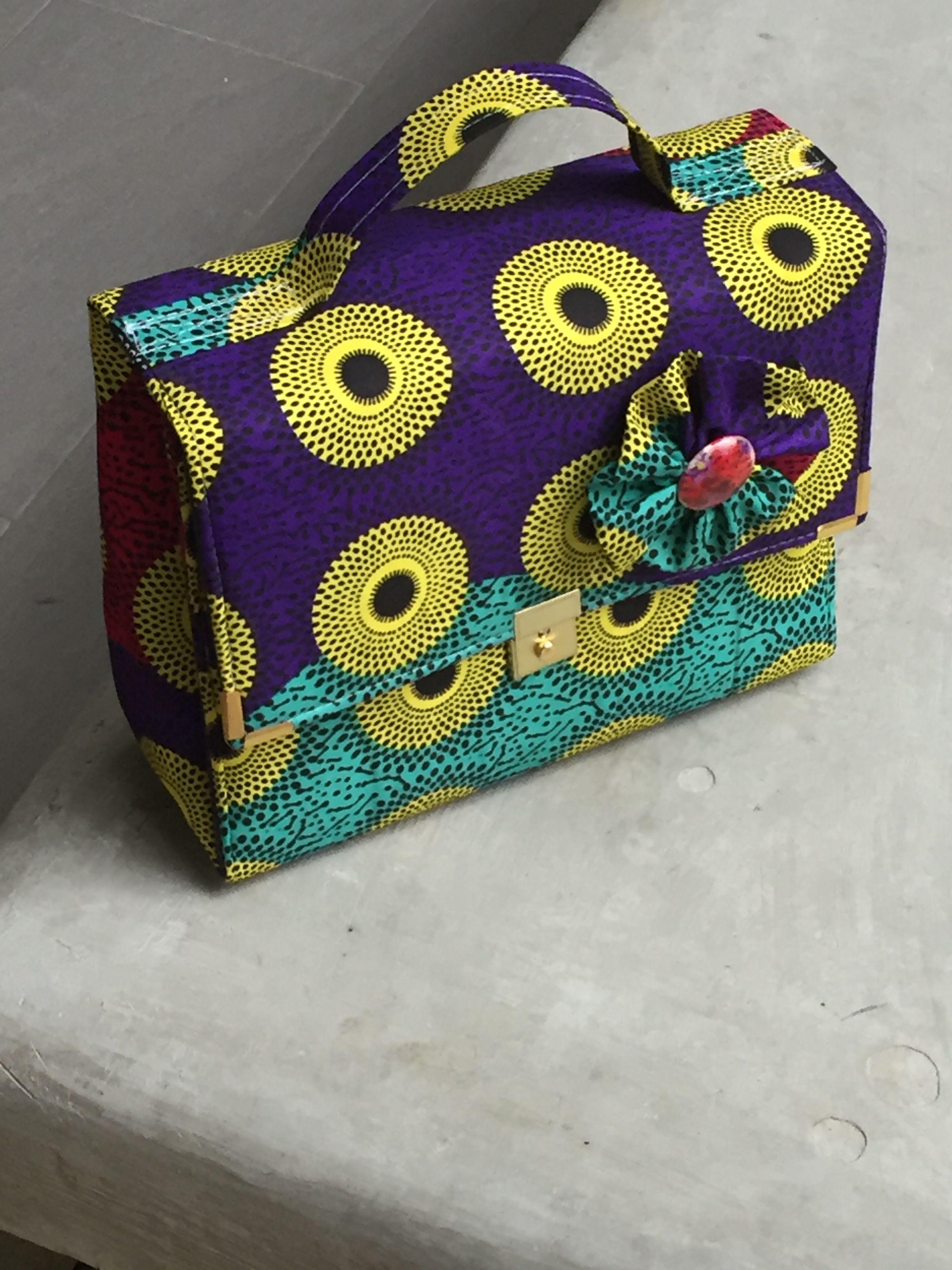 addd55adff Black Beauty Ankara Box Bag   Products   Bags, Tops, Box bag