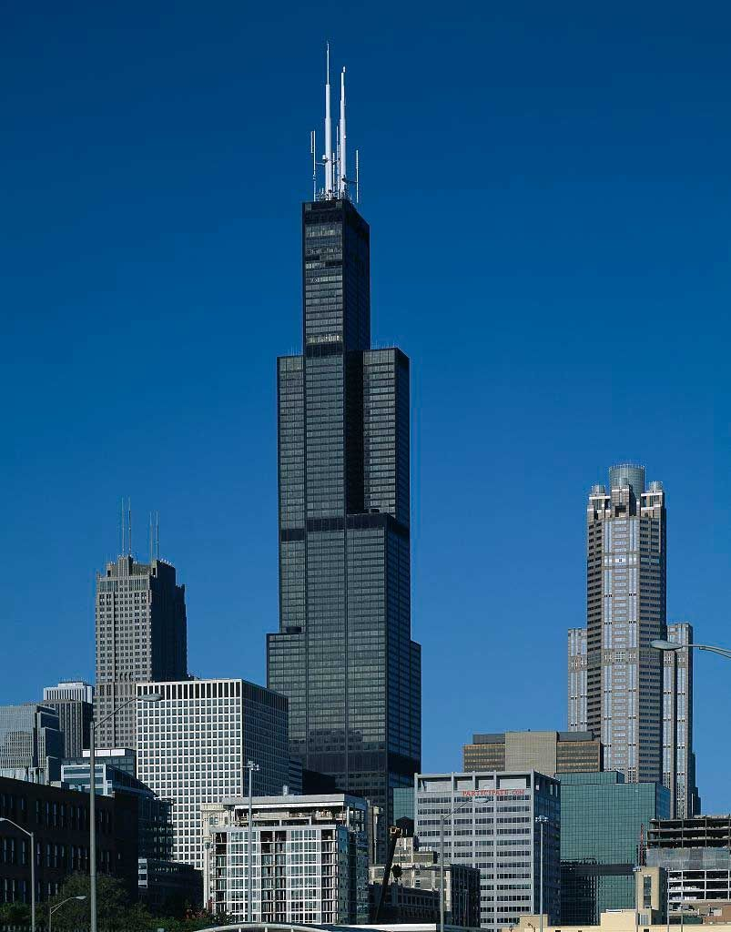 Photo of tallest building in chicago america 39 s tallest for 103 floor skyscraper the sears tower in chicago