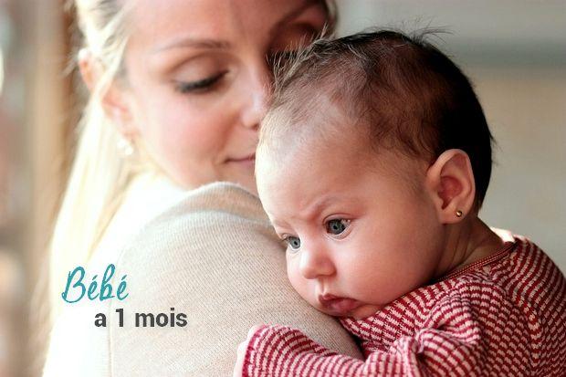 Top Bébé 1 mois : Bébé grandit vite GK71