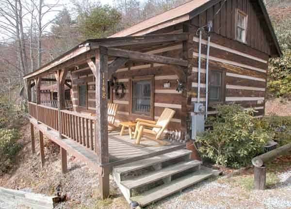 Lakefront Log Vacation Rental Cabin On Lake Nantahala North Carolina NC