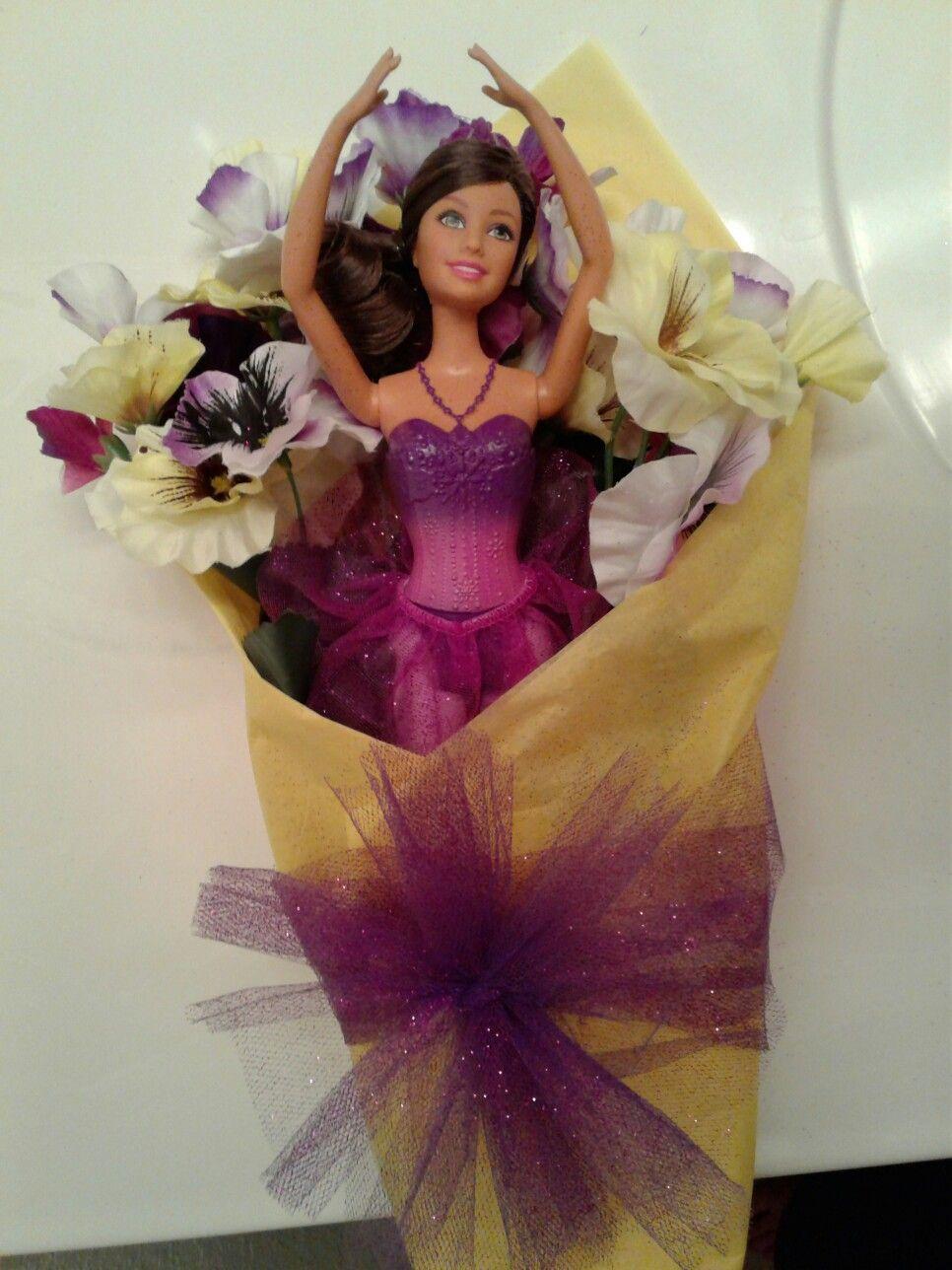 Easiest recital bouquet ever bought 4 ballet barbie 3