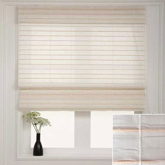 Roundup Roman Shades And Matchstick Blinds On The Cheap Matchstick Blinds Shades Blinds Home