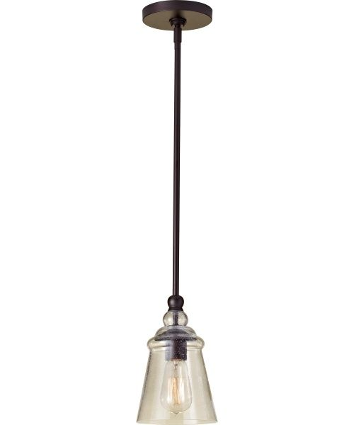 Oil rubbed bronze pendant lights at hayneedle