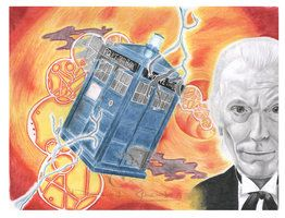 Doctor Who part 1-4 completed (The Tardis and 1st) by DanielGod17