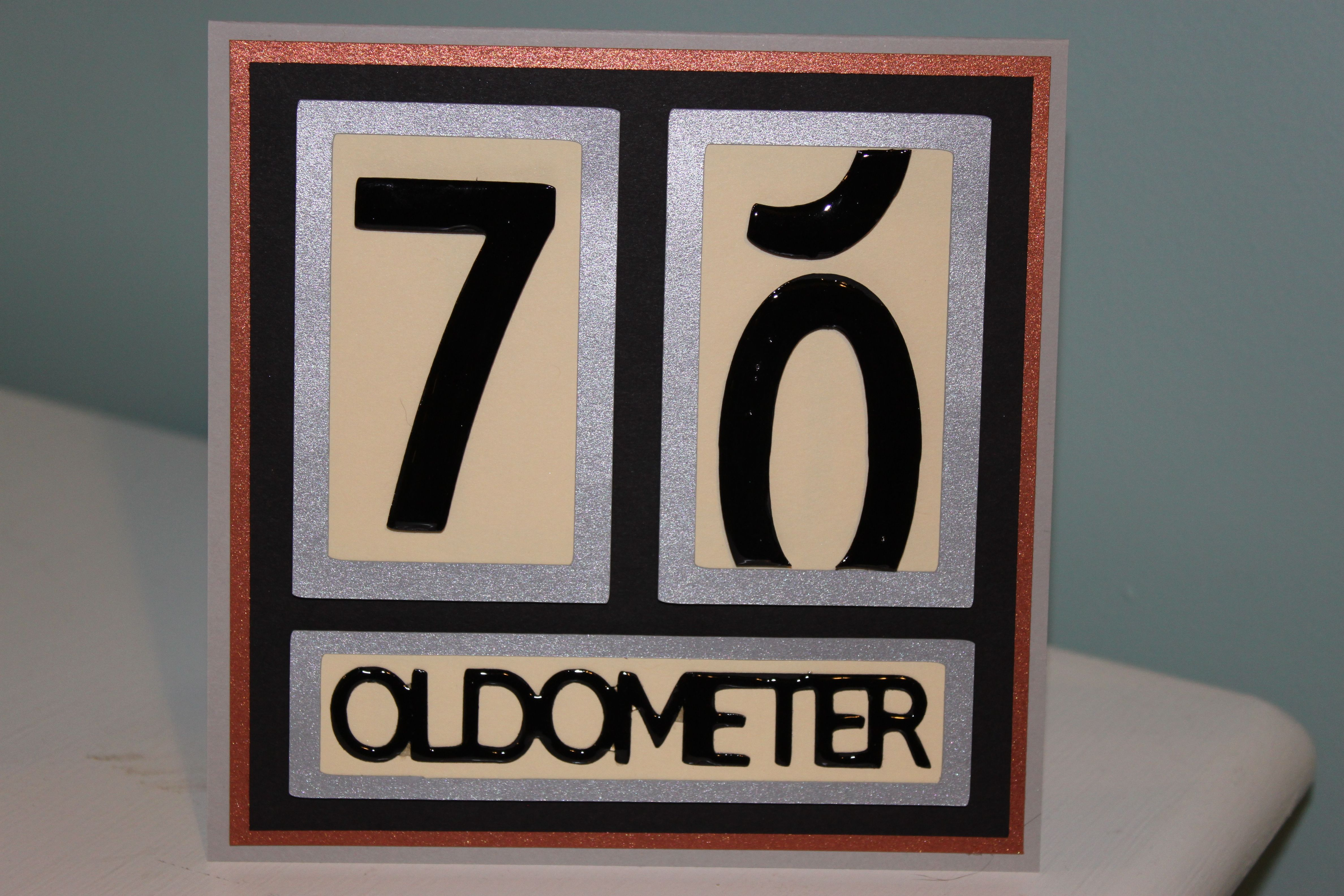 Pin By Dawne Ober On My Cards Projects 70th Birthday Card Birthday Cards For Men Birthday Cards For Brother