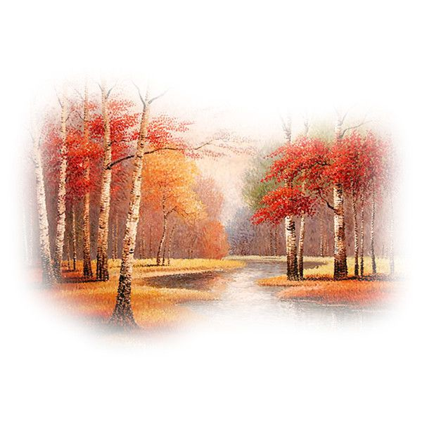 Tubes paysages automne ❤ liked on Polyvore featuring autumn, tubes, fade, fall, forest and backgrounds